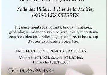 Salon de la Voyance aux CHERES 69